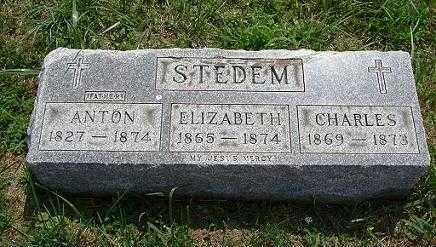STEDEM, ANTON - Hocking County, Ohio | ANTON STEDEM - Ohio Gravestone Photos
