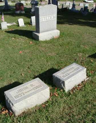 STEDEM, JOHN B. - Hocking County, Ohio | JOHN B. STEDEM - Ohio Gravestone Photos