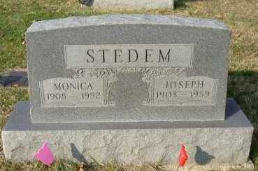 STEDEM, MONICA - Hocking County, Ohio | MONICA STEDEM - Ohio Gravestone Photos