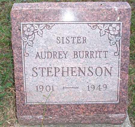 BURITT STEPHENSON, AUDREY - Hocking County, Ohio | AUDREY BURITT STEPHENSON - Ohio Gravestone Photos
