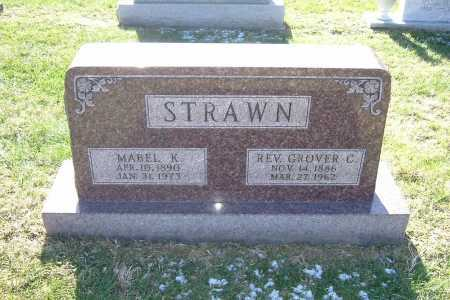 STRAWN, MABEL K. - Hocking County, Ohio | MABEL K. STRAWN - Ohio Gravestone Photos