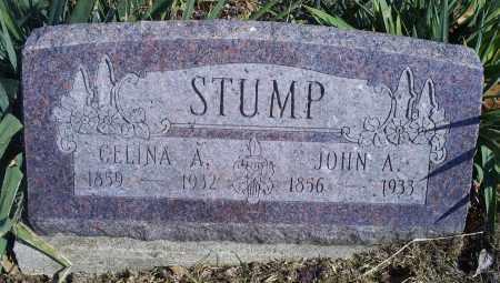 STUMP, JOHN A. - Hocking County, Ohio   JOHN A. STUMP - Ohio Gravestone Photos