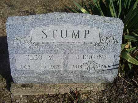 STUMP, E. EUGENE - Hocking County, Ohio   E. EUGENE STUMP - Ohio Gravestone Photos