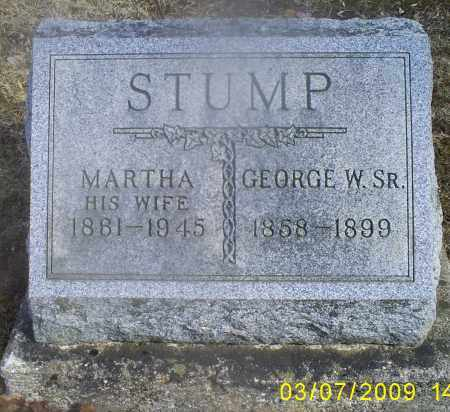 STUMP, MARTHA - Hocking County, Ohio   MARTHA STUMP - Ohio Gravestone Photos