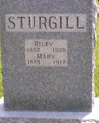 STURGILL, RILEY - Hocking County, Ohio | RILEY STURGILL - Ohio Gravestone Photos