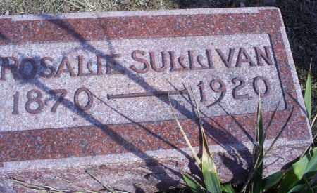 SULLIVAN, ROSALIE - Hocking County, Ohio | ROSALIE SULLIVAN - Ohio Gravestone Photos