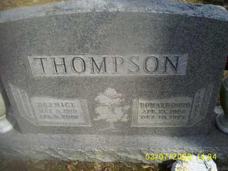 THOMPSON, HOWARD (BUD) - Hocking County, Ohio | HOWARD (BUD) THOMPSON - Ohio Gravestone Photos