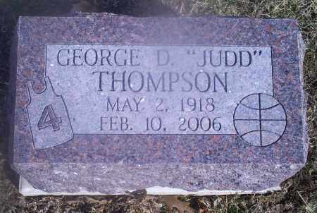 "THOMPSON, GEORGE D. ""JUDD"" - Hocking County, Ohio | GEORGE D. ""JUDD"" THOMPSON - Ohio Gravestone Photos"