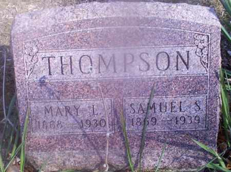 THOMPSON, SAMUEL S. - Hocking County, Ohio | SAMUEL S. THOMPSON - Ohio Gravestone Photos