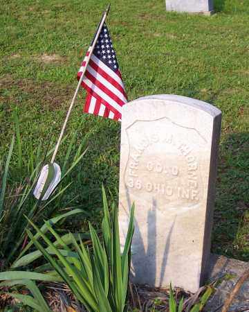 THORNE, FRANCIS M. - Hocking County, Ohio | FRANCIS M. THORNE - Ohio Gravestone Photos