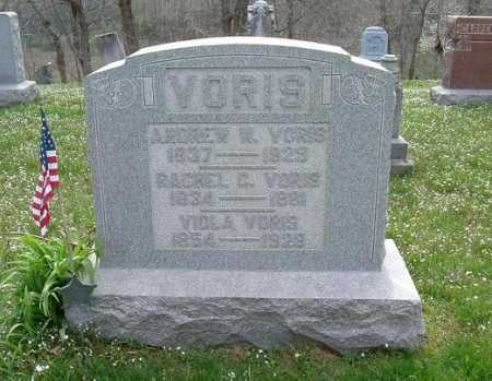 VORIS, ANDREW WILLIAM - Hocking County, Ohio | ANDREW WILLIAM VORIS - Ohio Gravestone Photos