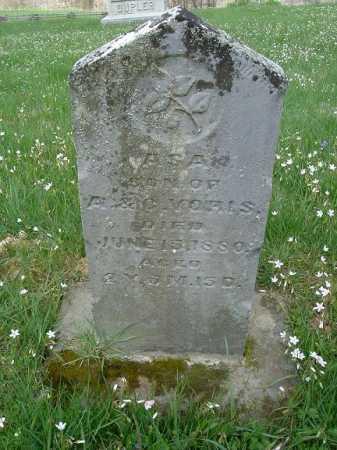 VORIS, ASA - Hocking County, Ohio   ASA VORIS - Ohio Gravestone Photos