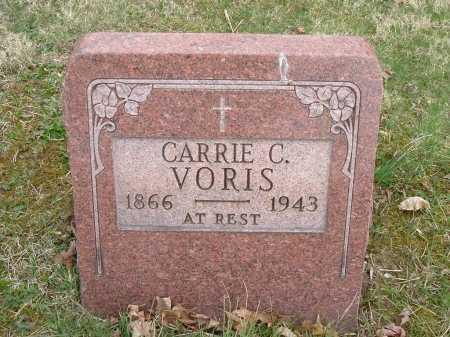 """WEILAND VORIS, CAROLINE """"CARRIE"""" - Hocking County, Ohio   CAROLINE """"CARRIE"""" WEILAND VORIS - Ohio Gravestone Photos"""