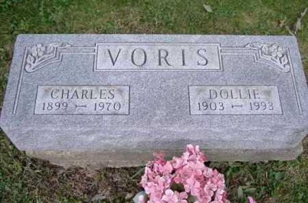 VORIS, CHARLES - Hocking County, Ohio | CHARLES VORIS - Ohio Gravestone Photos