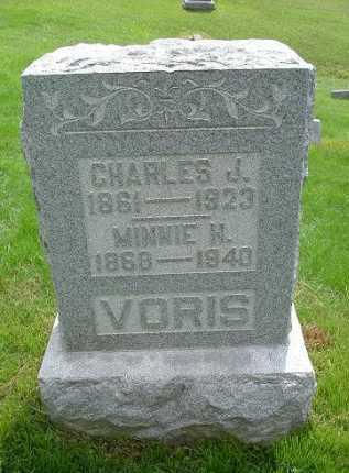 VORIS, MINNIE M. - Hocking County, Ohio | MINNIE M. VORIS - Ohio Gravestone Photos
