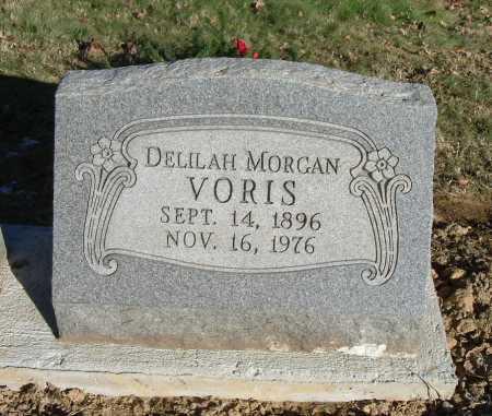 VORIS, DELILAH ETHEL - Hocking County, Ohio | DELILAH ETHEL VORIS - Ohio Gravestone Photos