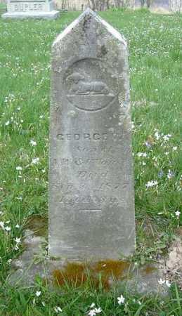 VORIS, GEORGE W. - Hocking County, Ohio | GEORGE W. VORIS - Ohio Gravestone Photos