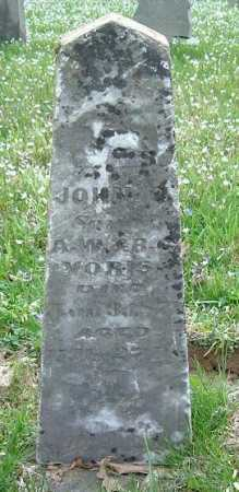 VORIS, JOHN - Hocking County, Ohio   JOHN VORIS - Ohio Gravestone Photos