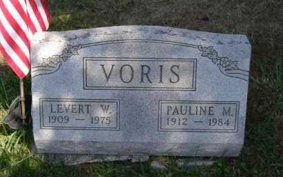 VORIS, LEVERT W. - Hocking County, Ohio | LEVERT W. VORIS - Ohio Gravestone Photos