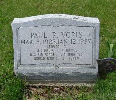 VORIS, PAUL RALPH - Hocking County, Ohio   PAUL RALPH VORIS - Ohio Gravestone Photos