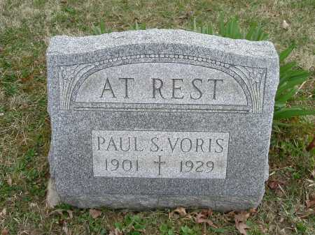 VORIS, PAUL SYLVESTER - Hocking County, Ohio | PAUL SYLVESTER VORIS - Ohio Gravestone Photos
