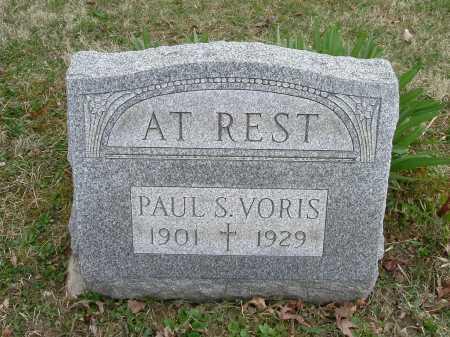 VORIS, PAUL SYLVESTER - Hocking County, Ohio | PAUL SYLVESTER VORIS - Ohio Gravestone Photos