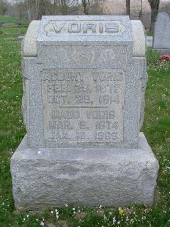 VORIS, SHADY ASBURY - Hocking County, Ohio | SHADY ASBURY VORIS - Ohio Gravestone Photos