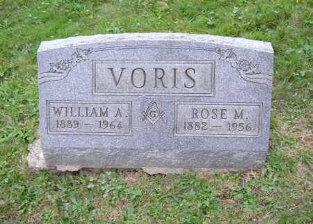 VORIS, ROSE M. - Hocking County, Ohio | ROSE M. VORIS - Ohio Gravestone Photos