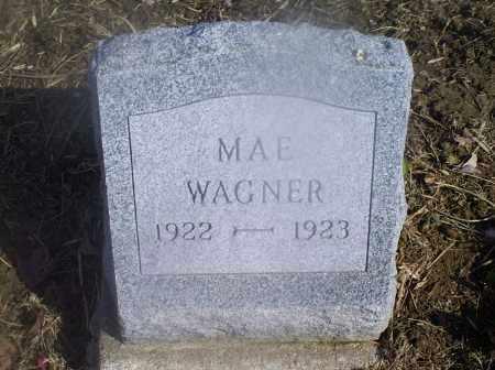 WAGNER, MAE - Hocking County, Ohio | MAE WAGNER - Ohio Gravestone Photos