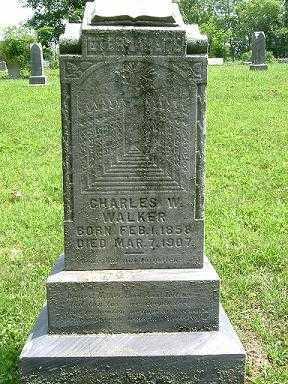 WALKER, CHARLES W. - Hocking County, Ohio | CHARLES W. WALKER - Ohio Gravestone Photos