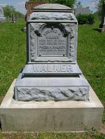 WALKER, EDWARD W. - Hocking County, Ohio | EDWARD W. WALKER - Ohio Gravestone Photos