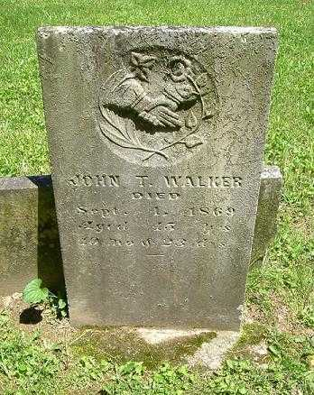 WALKER, JOHN T. - Hocking County, Ohio | JOHN T. WALKER - Ohio Gravestone Photos