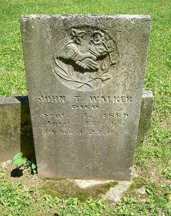 WALKER, JOHN T. - Hocking County, Ohio   JOHN T. WALKER - Ohio Gravestone Photos