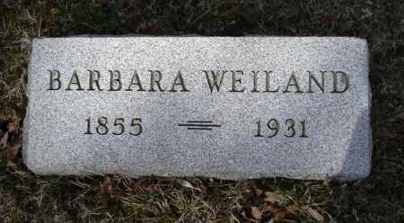 WEILAND, BARBARA - Hocking County, Ohio | BARBARA WEILAND - Ohio Gravestone Photos