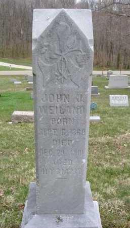 WEILAND, JOHN J. - Hocking County, Ohio | JOHN J. WEILAND - Ohio Gravestone Photos