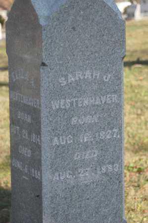WESTENHAVER, SARAH J - Hocking County, Ohio | SARAH J WESTENHAVER - Ohio Gravestone Photos