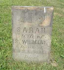 WILHELM, SARAH - Hocking County, Ohio | SARAH WILHELM - Ohio Gravestone Photos