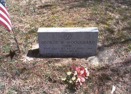 WOODGEARD, GEORGE W - Hocking County, Ohio   GEORGE W WOODGEARD - Ohio Gravestone Photos