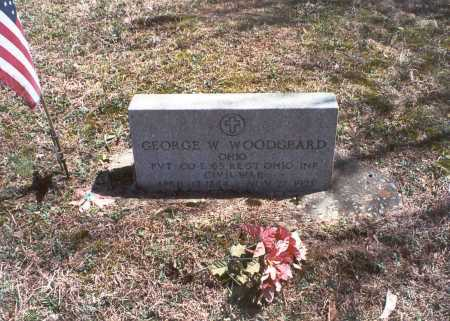 WOODGEARD, GEORGE W - Hocking County, Ohio | GEORGE W WOODGEARD - Ohio Gravestone Photos