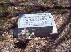 ROSE WOODGEARD, MARGARET - Hocking County, Ohio   MARGARET ROSE WOODGEARD - Ohio Gravestone Photos