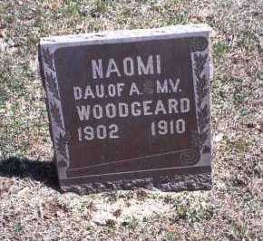 WOODGEARD, NAOMI - Hocking County, Ohio | NAOMI WOODGEARD - Ohio Gravestone Photos