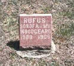WOODGEARD, RUFUS - Hocking County, Ohio | RUFUS WOODGEARD - Ohio Gravestone Photos