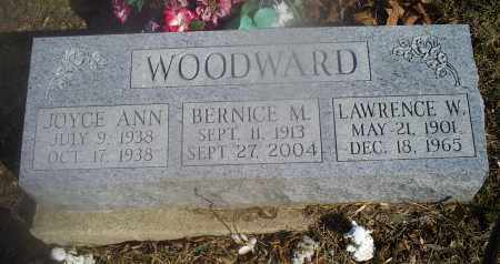 WOODWARD, LAWRENCE W. - Hocking County, Ohio | LAWRENCE W. WOODWARD - Ohio Gravestone Photos
