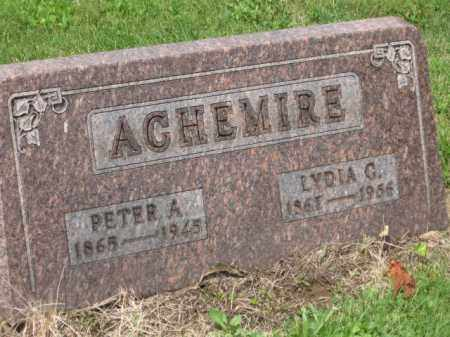 ACHMIRE, PETER A. - Holmes County, Ohio | PETER A. ACHMIRE - Ohio Gravestone Photos