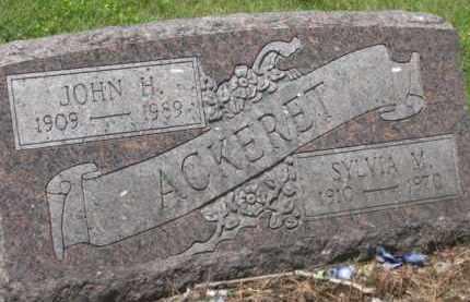 ACKERET, JOHN H. - Holmes County, Ohio   JOHN H. ACKERET - Ohio Gravestone Photos