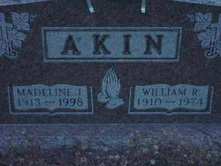 AKIN, WILLIAM R - Holmes County, Ohio | WILLIAM R AKIN - Ohio Gravestone Photos