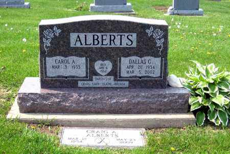 ALBERTS, DALLAS G. - Holmes County, Ohio | DALLAS G. ALBERTS - Ohio Gravestone Photos