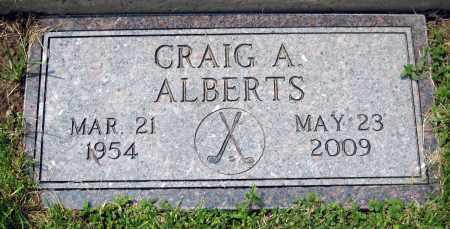 ALBERTS, CRAIG A. - Holmes County, Ohio | CRAIG A. ALBERTS - Ohio Gravestone Photos