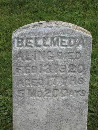 ALING, BELLMEDA - Holmes County, Ohio | BELLMEDA ALING - Ohio Gravestone Photos