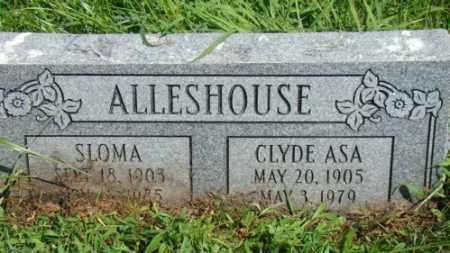 ALLESHOUSE, SLOMA - Holmes County, Ohio   SLOMA ALLESHOUSE - Ohio Gravestone Photos